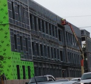 The new law school at the University of South Carolina, currently under construction.