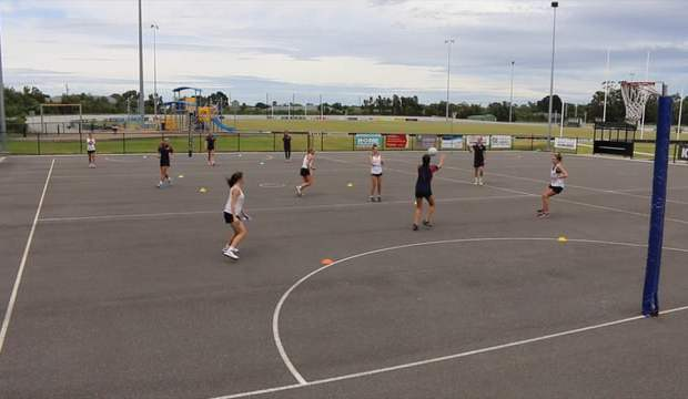 the 3 channels 3 thirds transition drill for netball coaches