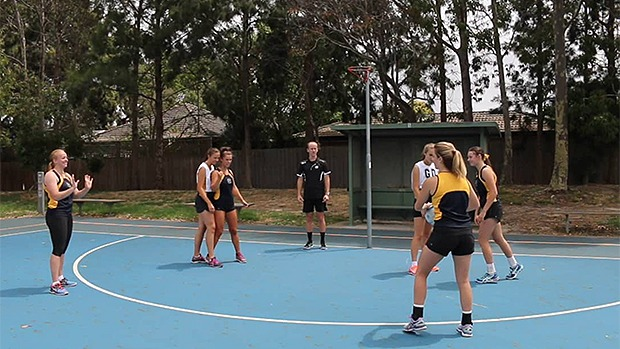 Goaler screening netball coaching drills skills videos
