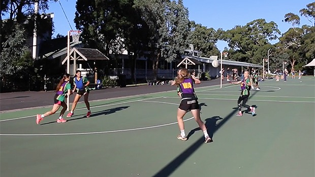 1 2 3 seconds drill netball coaching transition timing coach