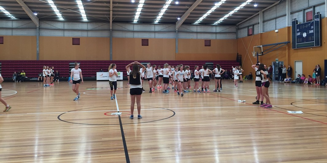 Netball selections trials coaching