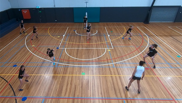 SHARNI LAYTON SWITCH DIAMOND DEFENSIVE NETBALL DRILL