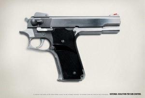 Most popular handgun with liberals.