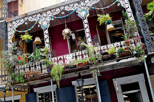 Street Scene in French Quarter