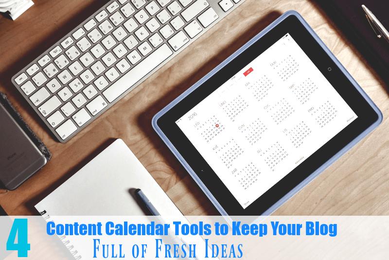 Content Calendar Tools