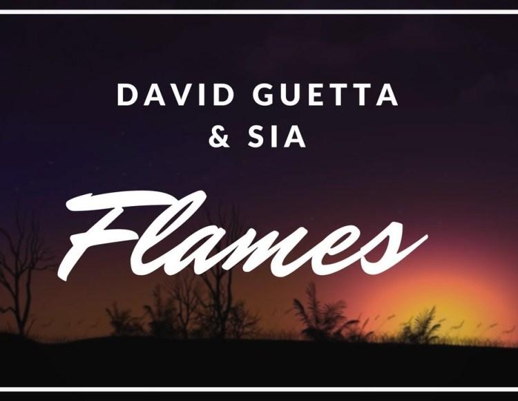 "David guetta & sia ""Flames"""