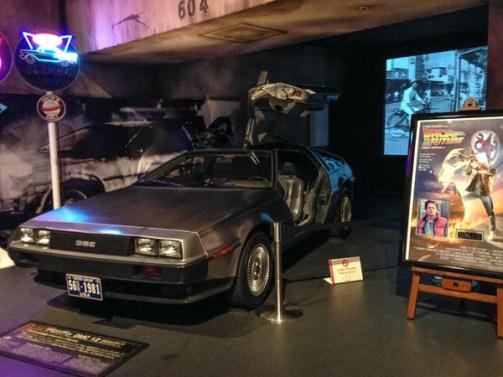 Odaiba and Tokyo Tower - Car Exhibit, Odaiba