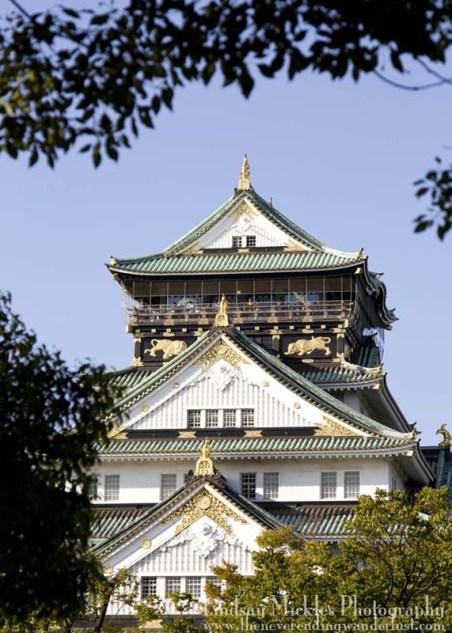 24 Hours in Osaka - Osaka Castle, Japan