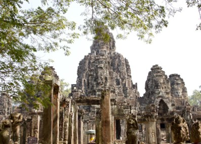 Bayon, Angkor Complex, Cambodia