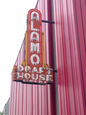 The famous Alamo Draft House in Austin, Texas