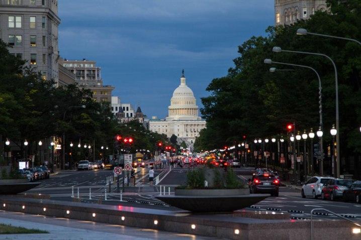 US Capitol Building at Night - Washington DC