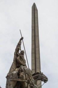 Assen Monument and Boris Denev Art Gallery, Veliko Tarnovo, Bulgaria