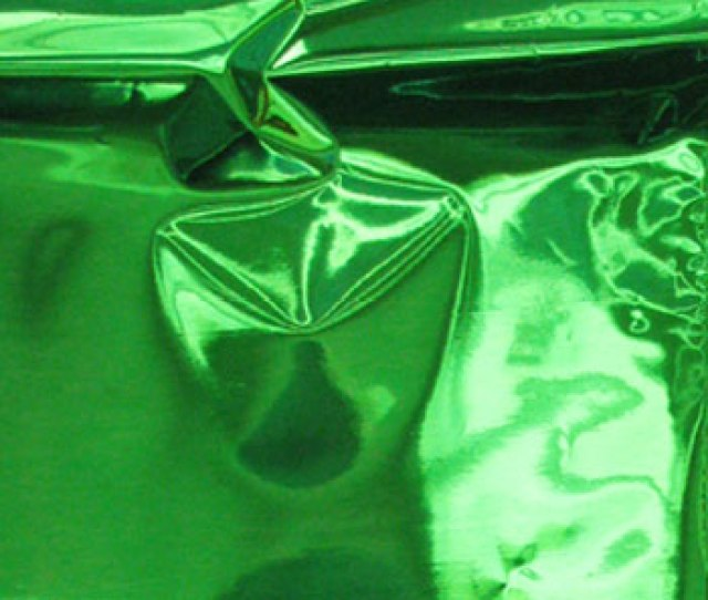 Green Mylar Bag