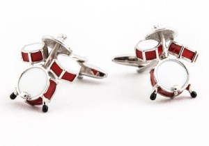 buy drum kit cufflinks