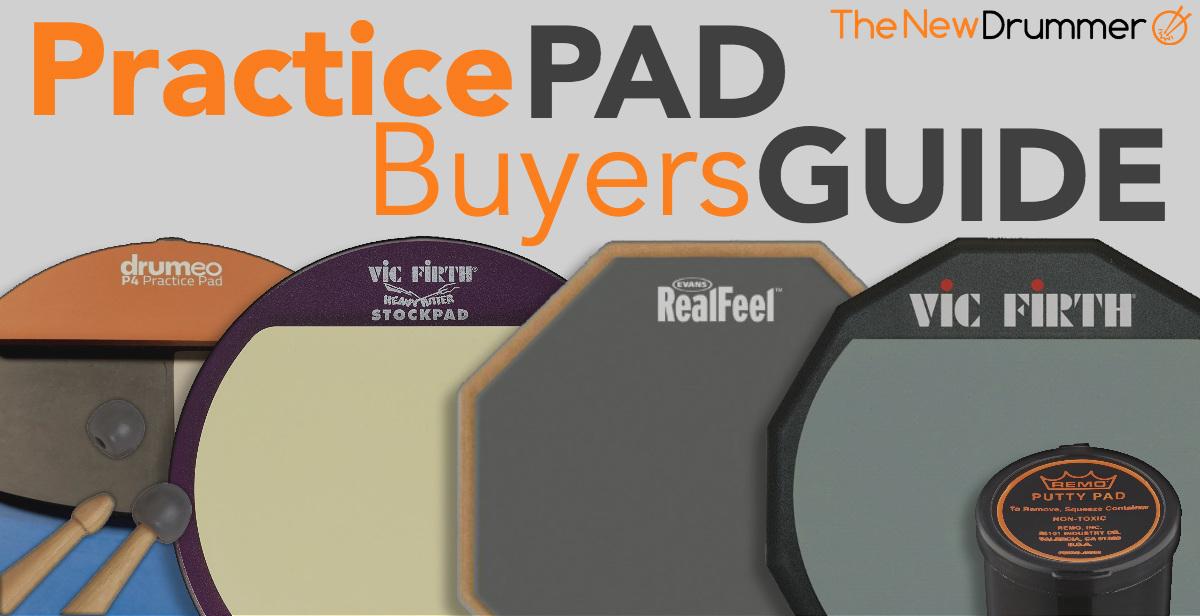 "Remo Practice Pad 6/"" Diameter Coated Head Gray"