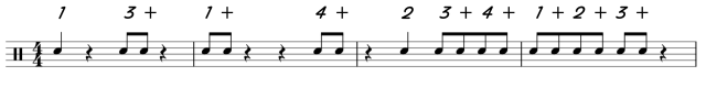 Eighth Note Reading with Rests