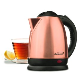 1.5-Liter Stainless Steel Cordless Electric Kettle Rose Gold