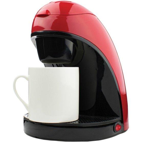 Single-Serve Coffee Maker with Mug Red