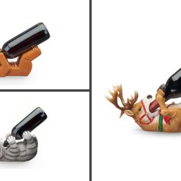 Christmas Themed Wine Bottle Holder