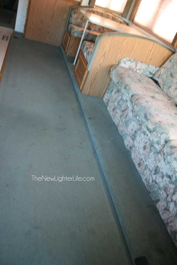 How To Replace Rv Flooring On A Raised Slide