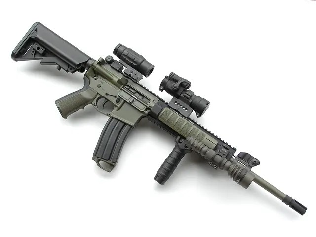 Red Dot sight with Magnifier