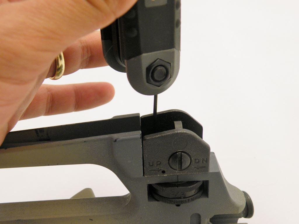 AR15 Rear Sight Installation (16)