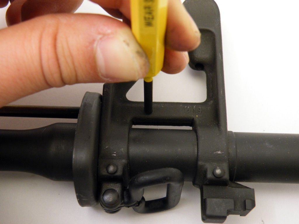 AR15 install gas tube (8)