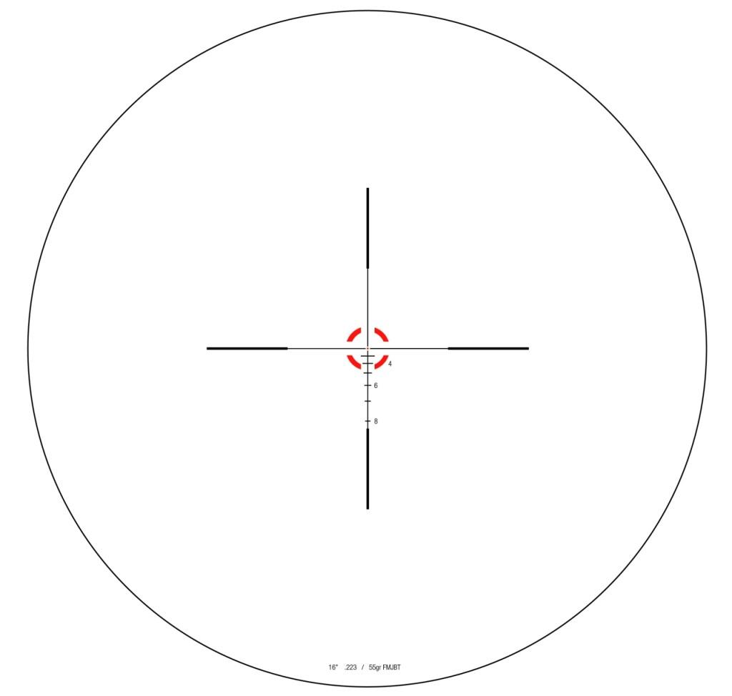 trijicon RS24 reticle