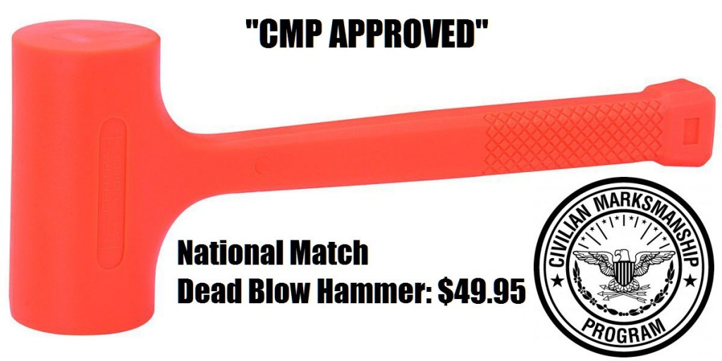 National Match Dead Blow Hammer