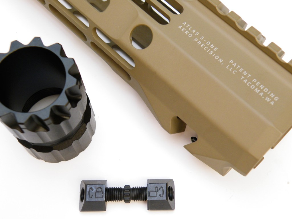 Lightweight rail ar15 aero precision