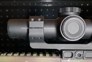 The auto level line works great and the bezel on the end of the scope adds a nice, subtle look!