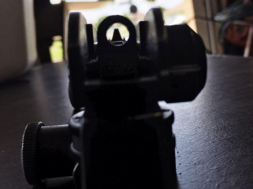 Prototype sight picture