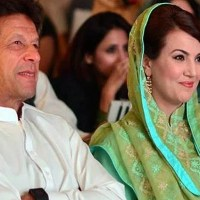 Imran Khan with ex wife Reham Khan