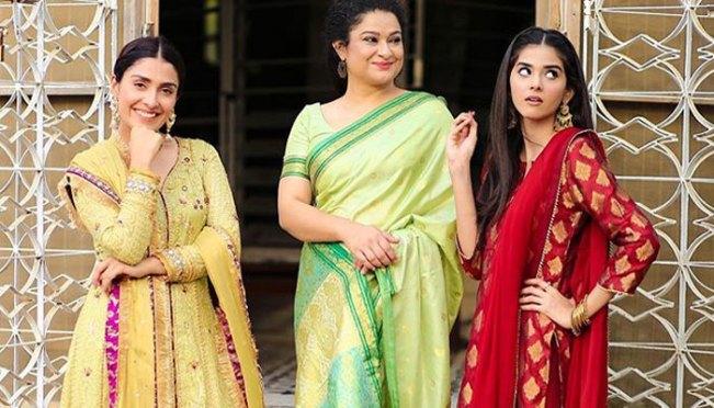 Ayeza Khan shares more adorable photos from Mehar Posh 3