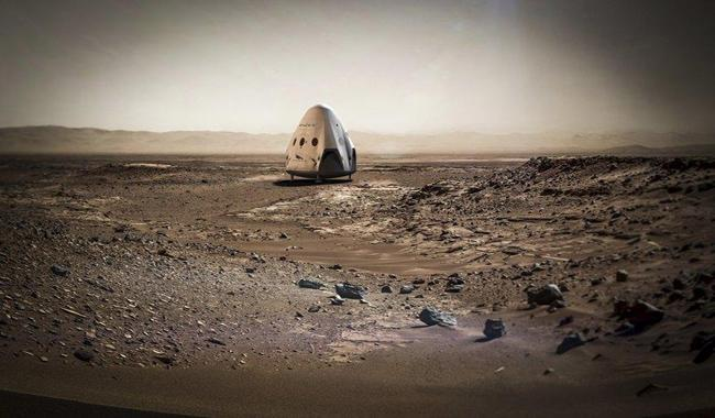 SpaceX targets 2018 for first Mars mission