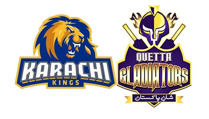 Watch PSL 2021 live stream: Quetta Gladiators vs Karachi Kings, match no 29