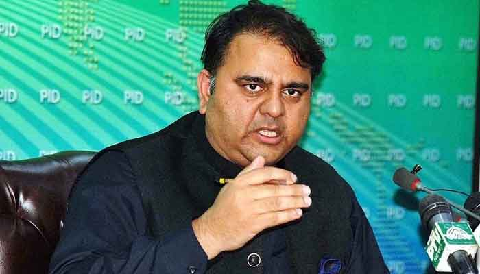 Federal Minister for Information Fawad Chaudhry. File photo