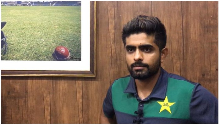 Pakistani cricket team captain Babar Azam. Photo — Geo.tv/Sohail Imran