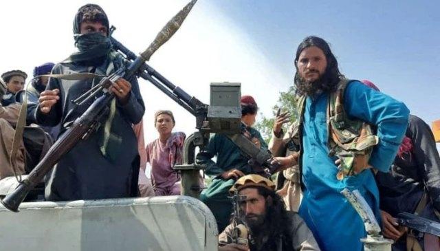 طالبان جنگجو۔  تصویر: فائل۔