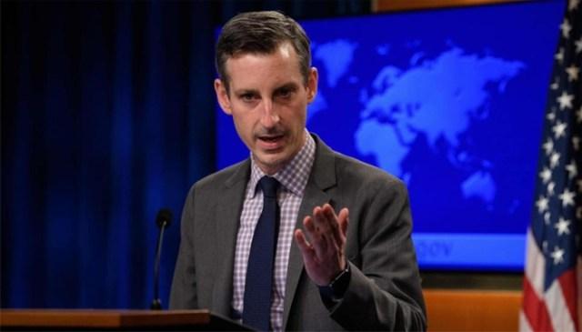 امریکی محکمہ خارجہ کے ترجمان نیڈ پرائس  - اے ایف پی