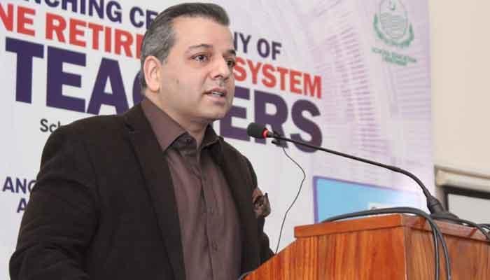 Punjab Education Minister Murad Raas. — Geo News/File