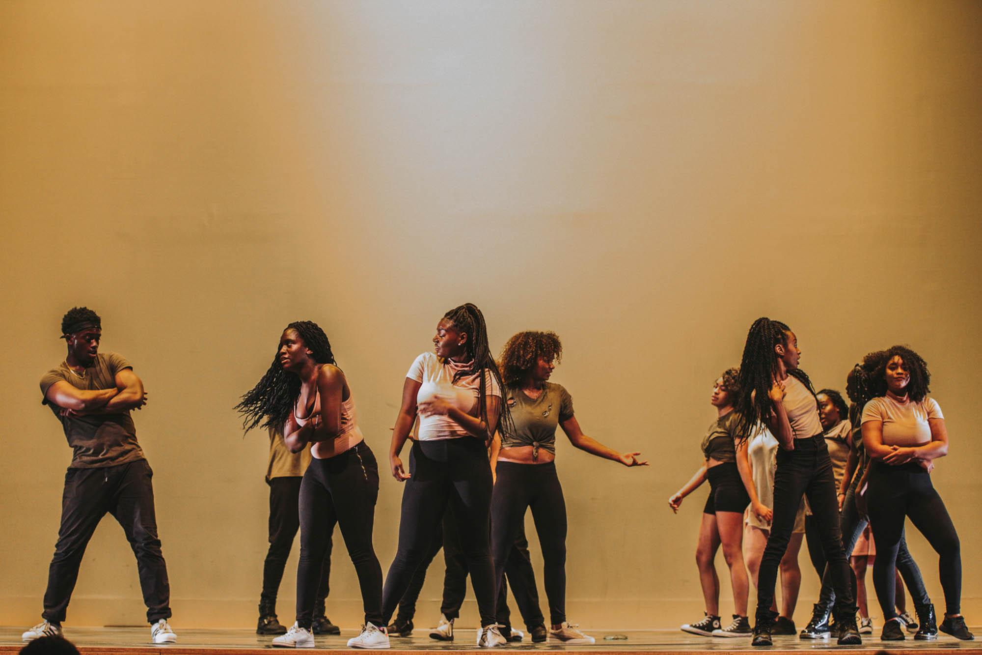 DanceWorks homecoming showcase