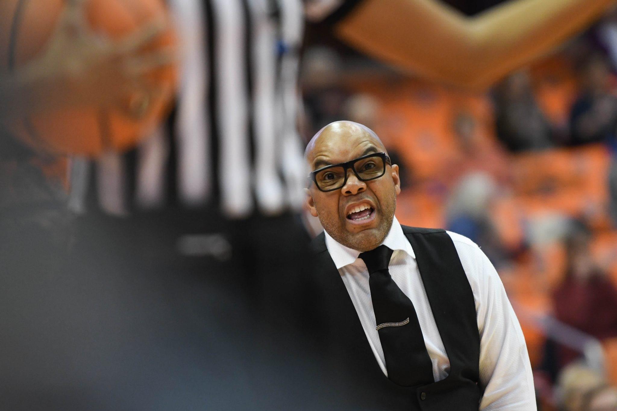 Women's basketball coach Quentin Hillsman