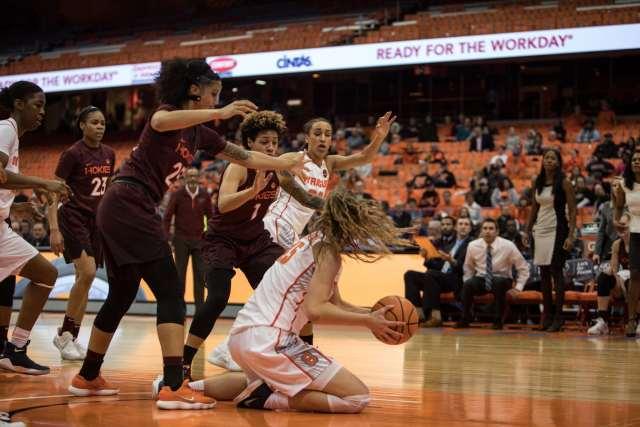 Women's basketball versus Virginia Techj