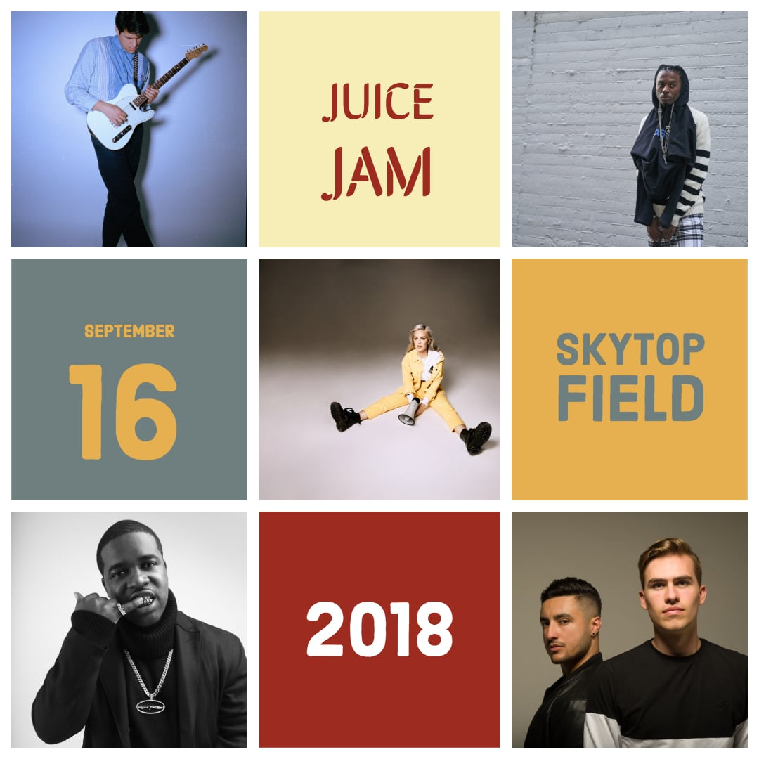 Juice Jam 2018 Announcement