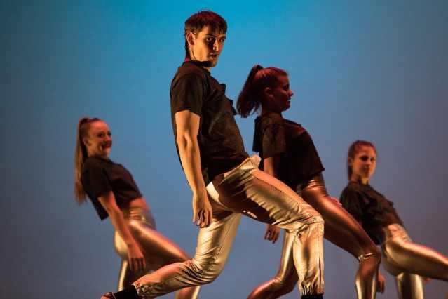"SU DanceWorks Spring Showcase: Dancers' perform ""Black Mirror"""