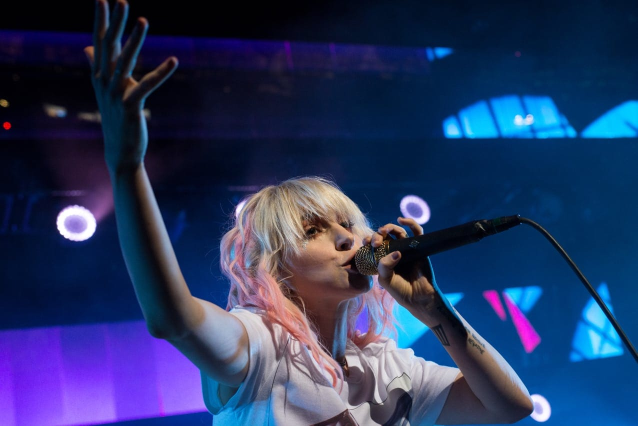 Paramore performs at St. Joseph's Health at Lakeview Amphitheater - June 17, 2018