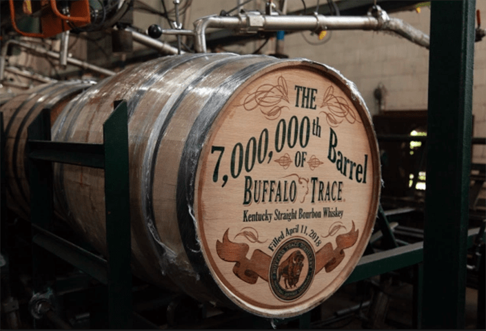 "Buffalo Trace Distillery in Kentucky – the ""birthplace of bourbon"" – and gives you a personalized tour."