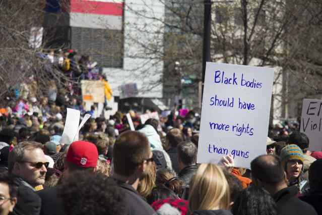 Marchers answered calls for intersectionality