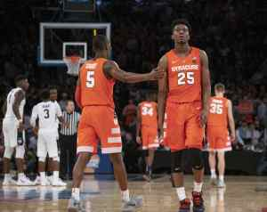 Syracuse vs. UConn men's basketball on Nov. 15, 2018, at Madison Square Garden